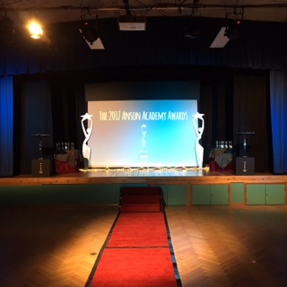 The red carpet for The Annies Ceremony