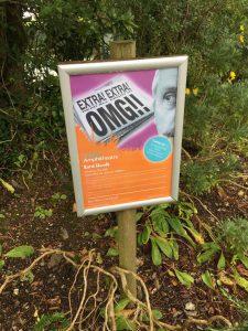 Poster for Trebah Gardens, Bard Heads.
