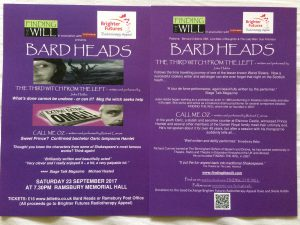 Bard Heads Brighter Futures Flyer
