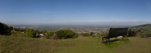 View from Cleeve Hill, Cheltenham
