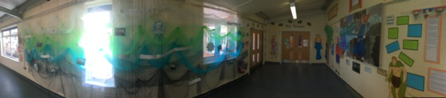 The Tempest Corridor St Bartholomew's Academy, Coventry