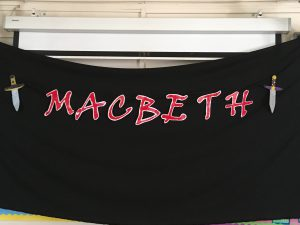 Montpelier Primary Macbeth backdrop