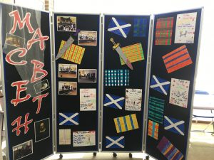 Macbeth Display at Montpelier Primary School, Ealing