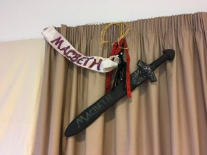 The symbol of Macbeth at Collingbourne Primary School