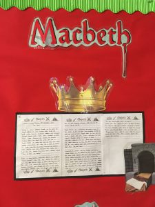 Macbeth pre-work at Icknield Primary School (Autumn 2017)