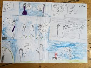 Romeo & Juliet storyboard, Year 4, Christ Church Primary, Surbiton