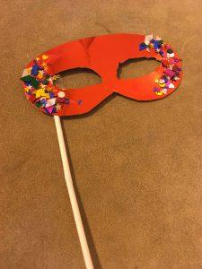 Romeo & Juliet mask - Heritage Park Primary