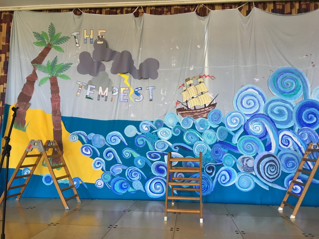 The Tempest Backdrop, Icknield Primary