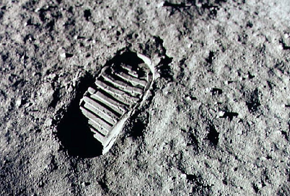 One small step for man….