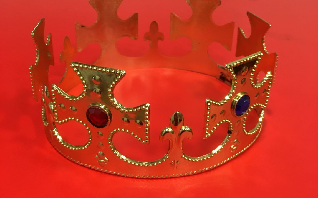 The King's Crown worn by Duncan, Macbeth and Malcolm