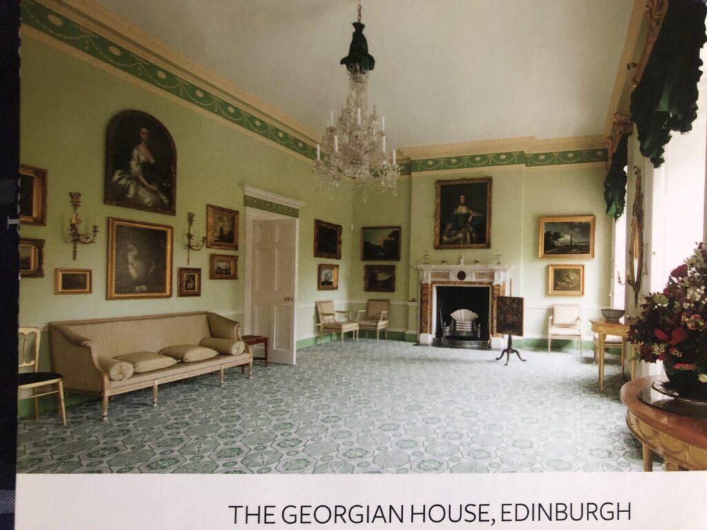 The Drawing Room at The Georgian House, Edinburgh (Venue 343)
